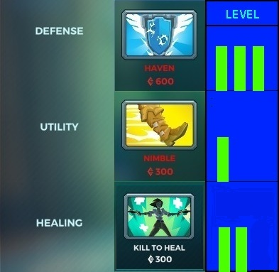 paladins lex items