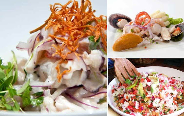 receta de cebiche de mariscos peruano