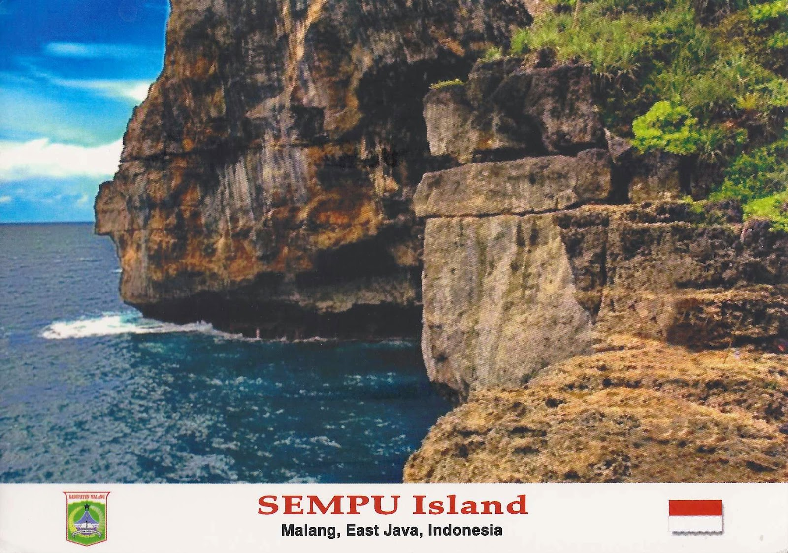 Lost paradise of Sempu Island