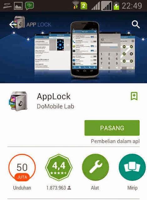 Cara Kunci Aplikasi di Android dengan Applock