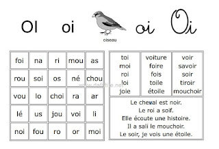 50 لوحة قرائية باللغة الفرنسية جاهزة للطباعة مجموعة من اللوحات القرائية  لدعم القراءة باللغة الفرنسية