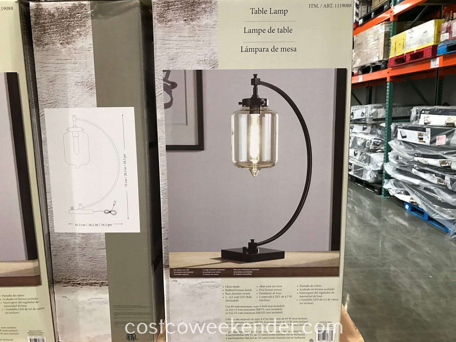 Costco Table Lamp: Stylecraft Home Hastings Table Lamps ...