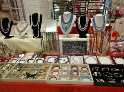 suzanna koh costume jewellry stall
