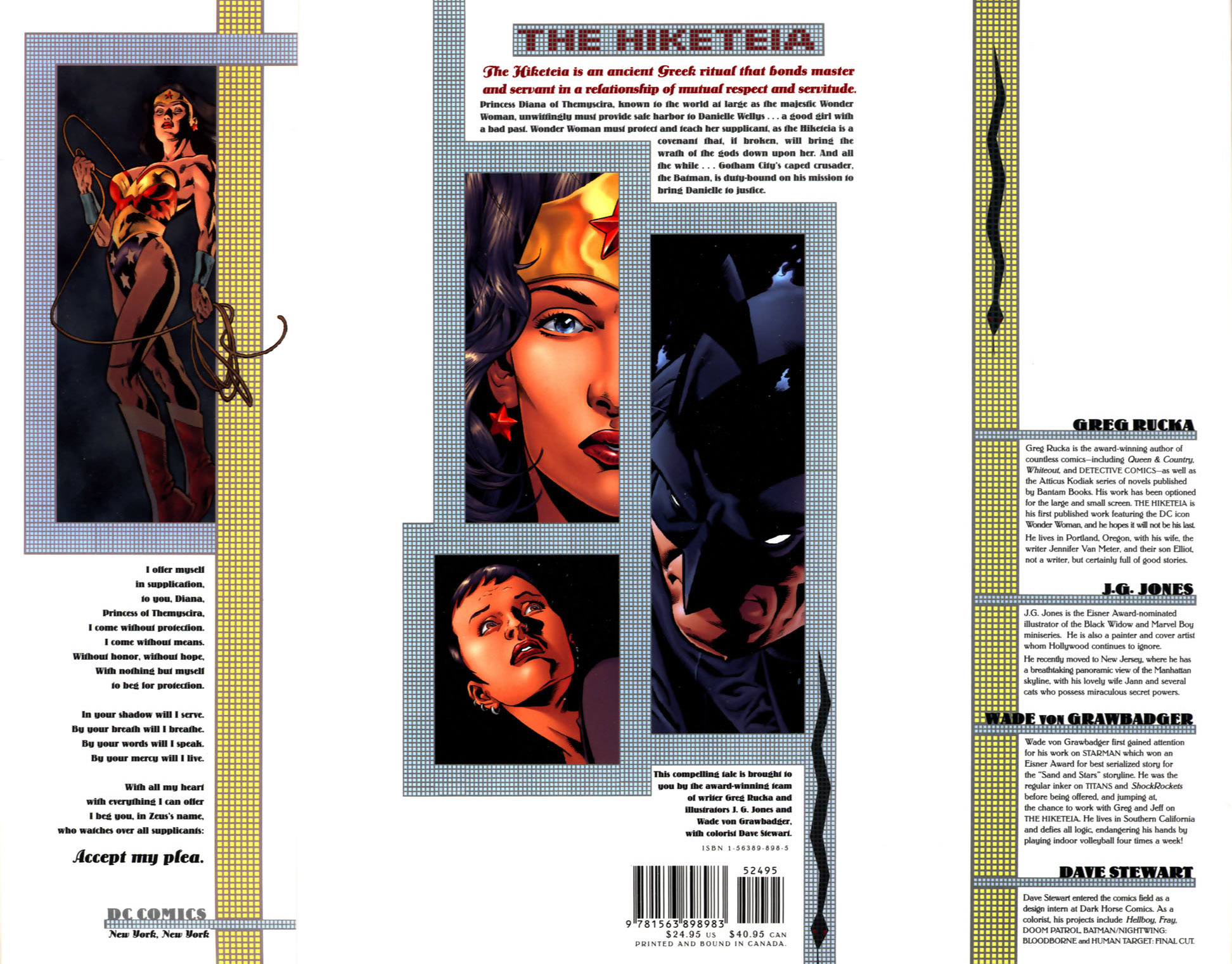 Read online Wonder Woman: The Hiketeia comic -  Issue # Full - 103