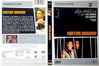 Carátula dvd: Cortina rasgada (1966) (Torn Curtain)
