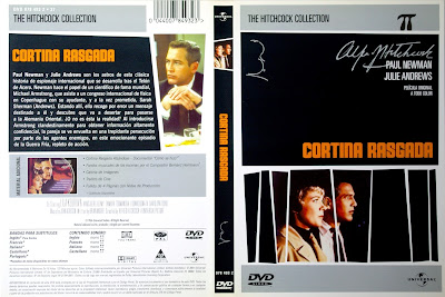 Carátula dvd: Cortina rasgada (1966) (Torn Curtain)