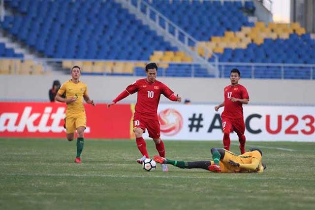 Video U23 Việt Nam - U23 Australia: Chiến thắng lịch sử, người hùng phút 72 1