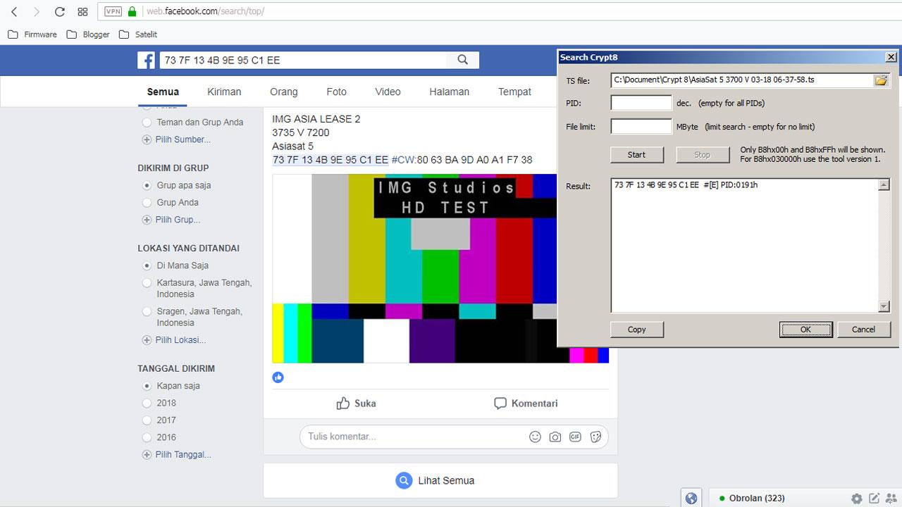 Cara Brute Biss Key Dengan Cepat Lewat Facebook