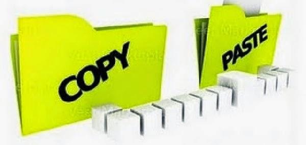 Copy Paste, Menghilangkan Kreatifitas Blogger