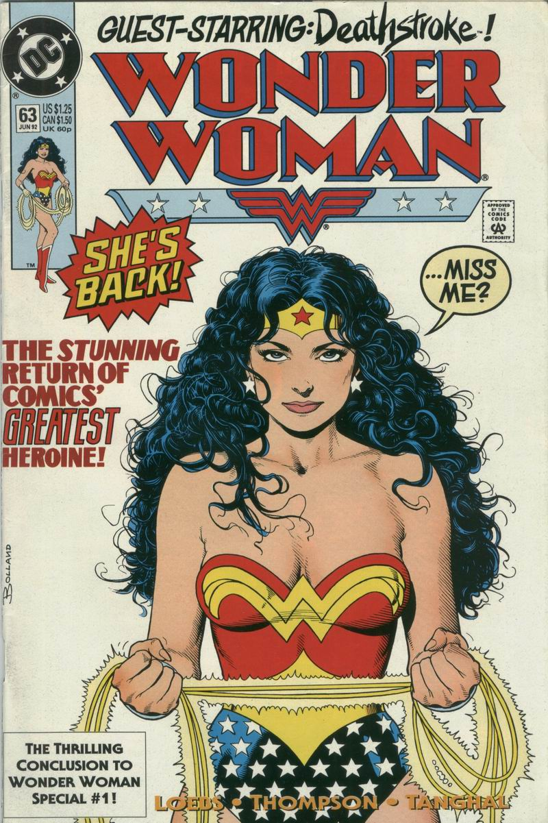 Read online Wonder Woman (1987) comic -  Issue #63 - 1