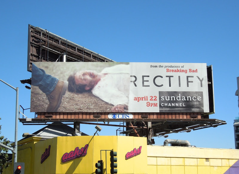 Rectify series premiere billboard
