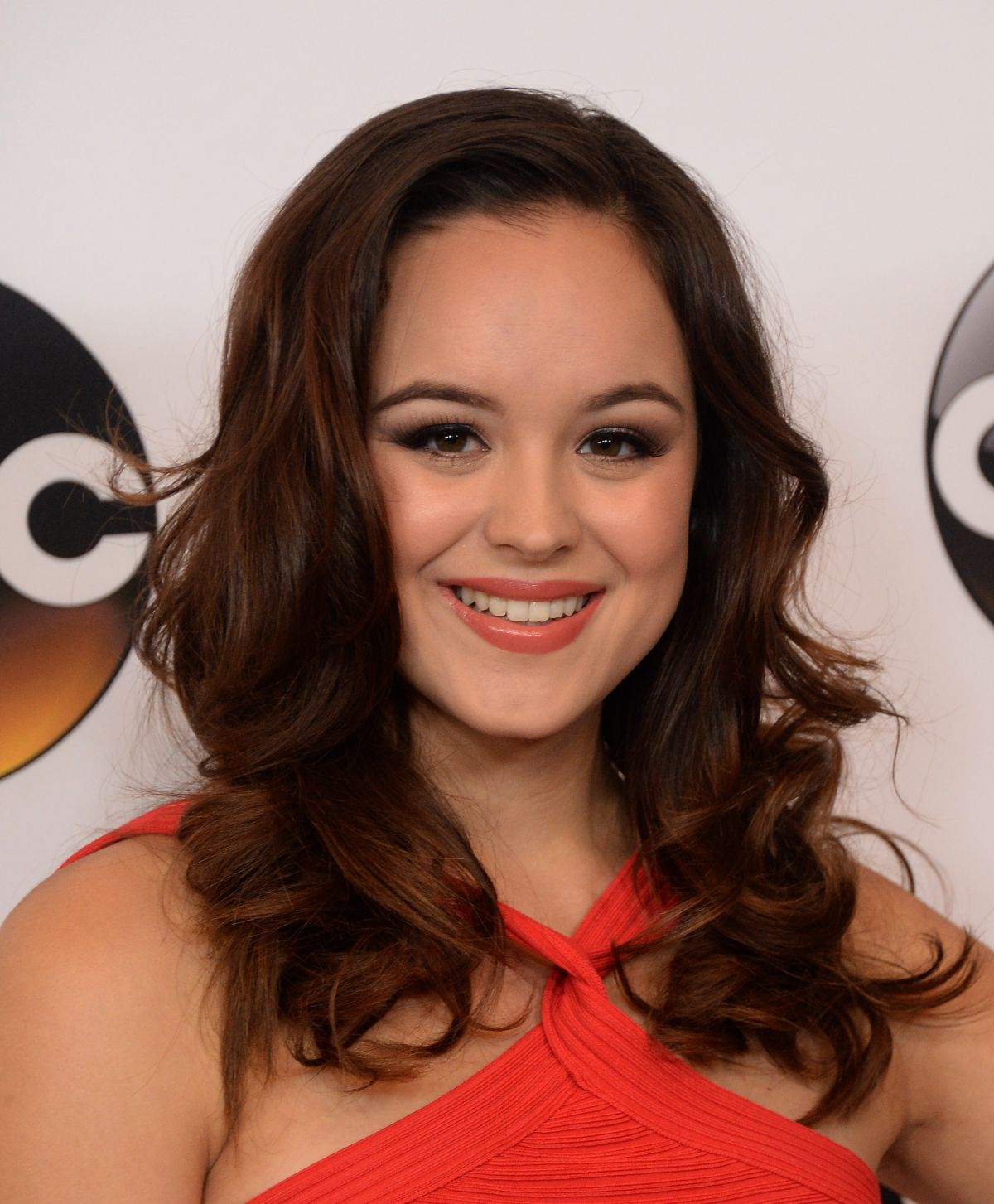 Hayley Orrantia at Disney ABC Television TCA Summer Press Tour in Beverly Hills