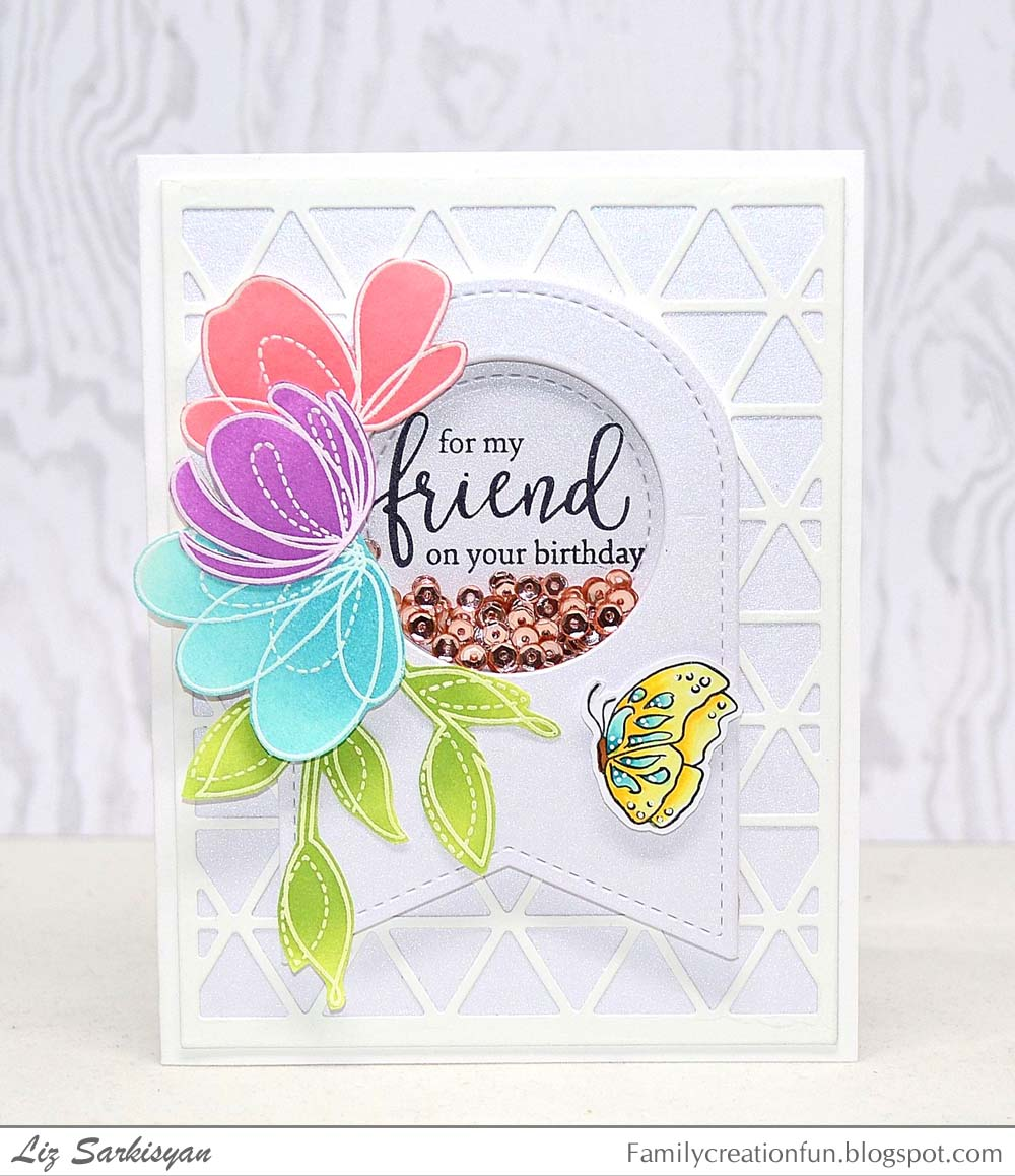 Create for family and friends happy birthday with flowers this was so much fun to make as i always enjoy ink blending so to get me started i embossed several images from the spring flowers set from simon says izmirmasajfo