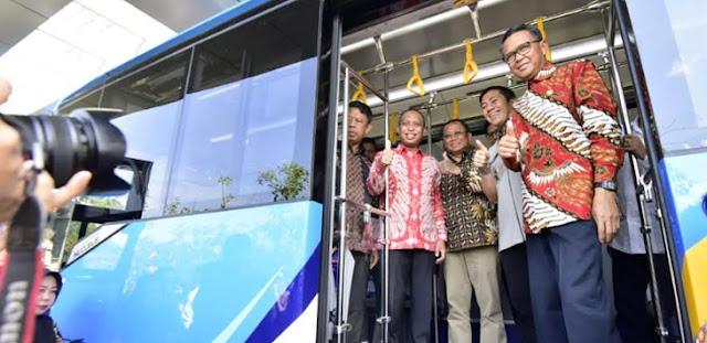 Gubernur Nurdin Abdullah Evaluasi BRT