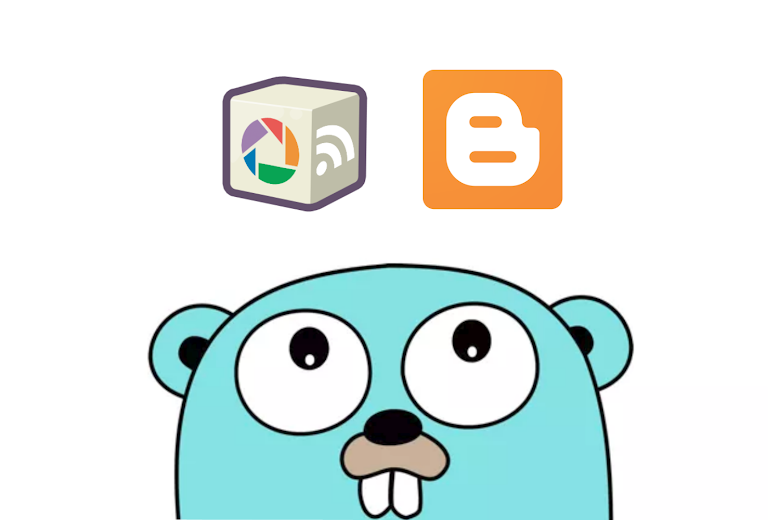 Golang Goolge APIs - Blogger & PicasaWeb