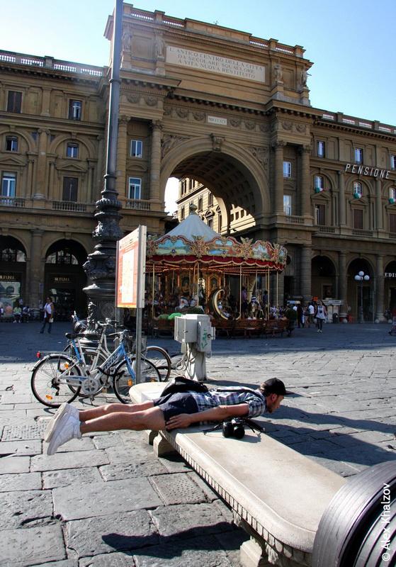 планкинг во Флоренции