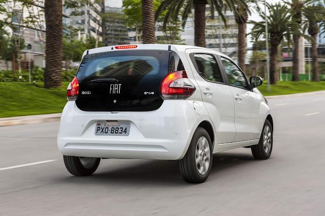 Fiat Mobi x Renault Kwid - consumo