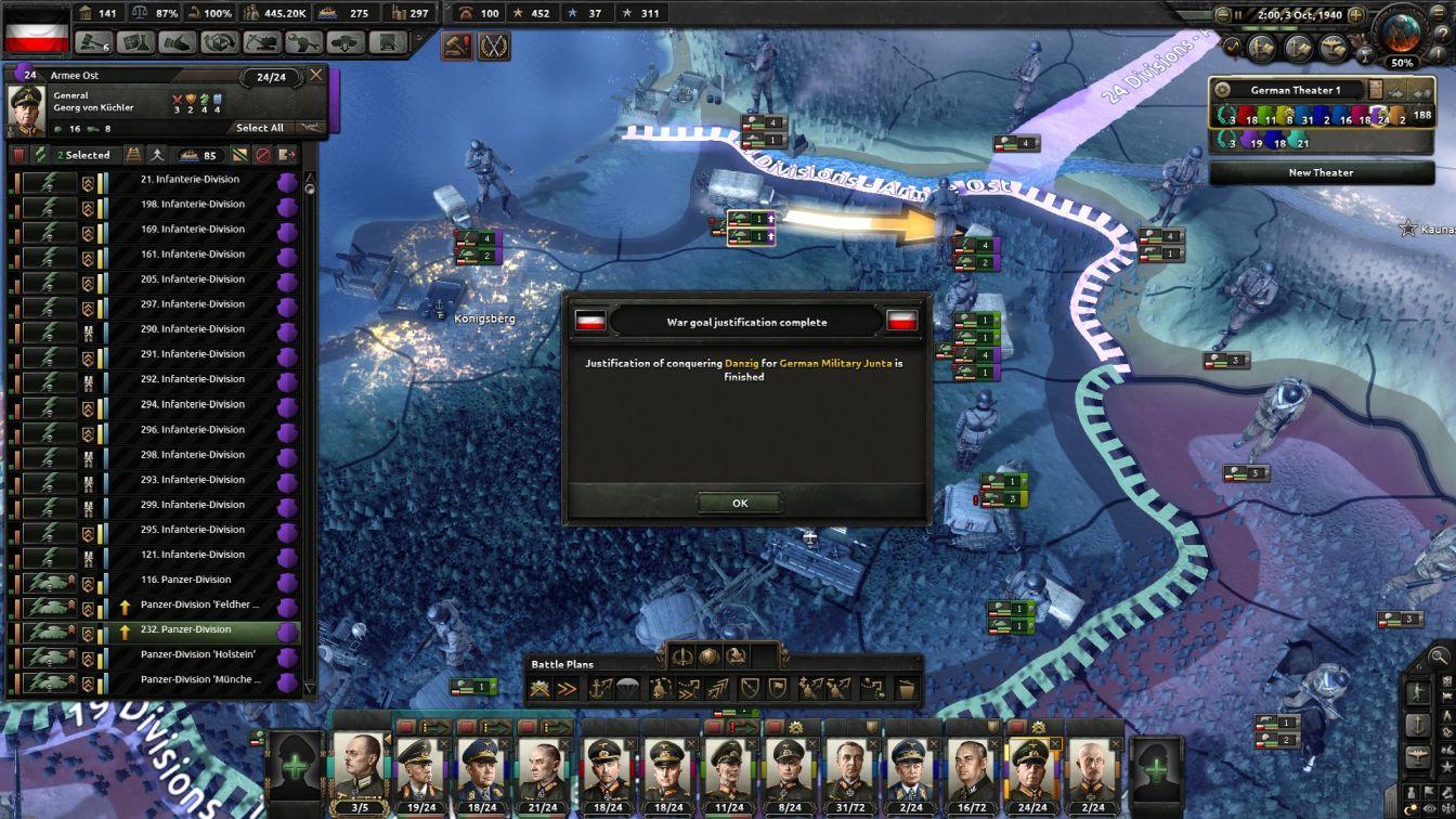 Germany - HOI4 - Polish Campaign (I)