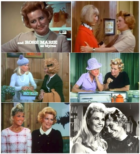 "Marie was ""Myrna,"" friend and colleague to Doris Day on homespun TV classic ""The Doris Day Show"""