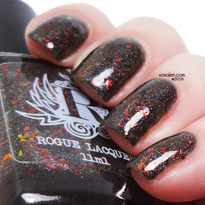 xoxoJen's swatch of Rogue Lacquer Campfire Tales