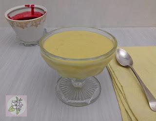 Crema de Mango y Coco al Estilo Thai.