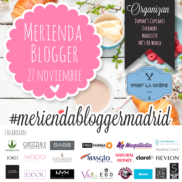 Merienda Blogger de Madrid