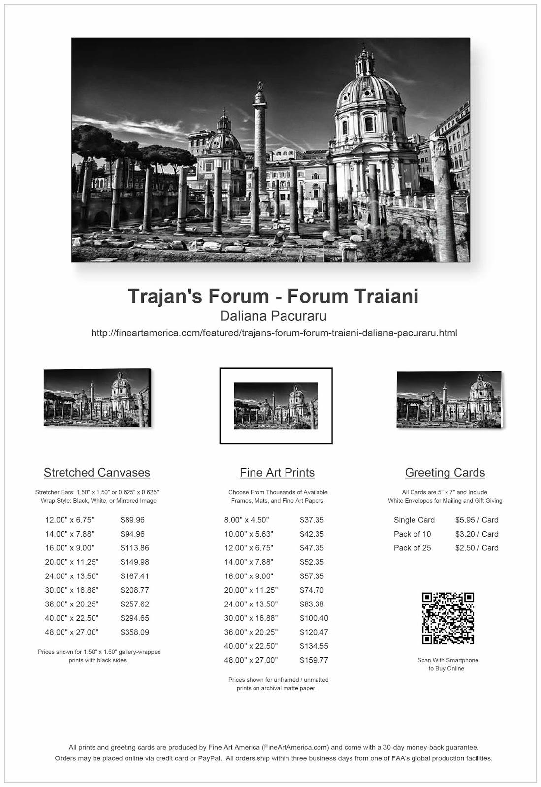 Photographis: Roma - Trajan's Forum - Forum Traiani
