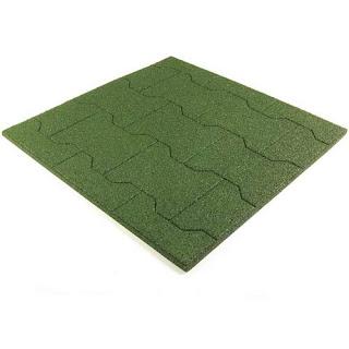 Greatmats Equine Paver Tile 30mm Dog Bone Pattern horse barn aisles