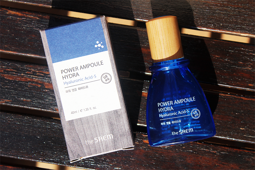 the SAEM Power Ampoule Hydra review