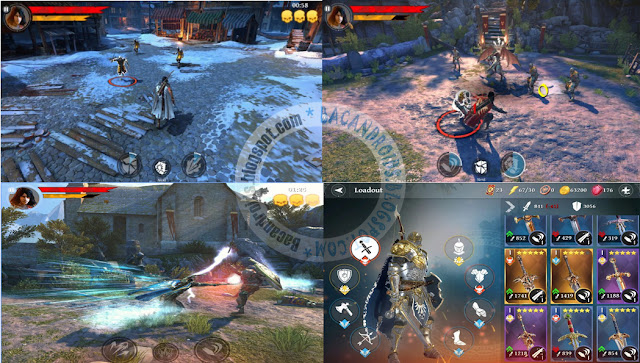 iron blade Medieval Legends Apk Data update 1.0.1a