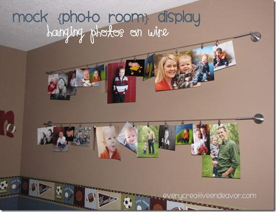 It 39 s written on the wall fun way to display your family for Displaying pictures in your home