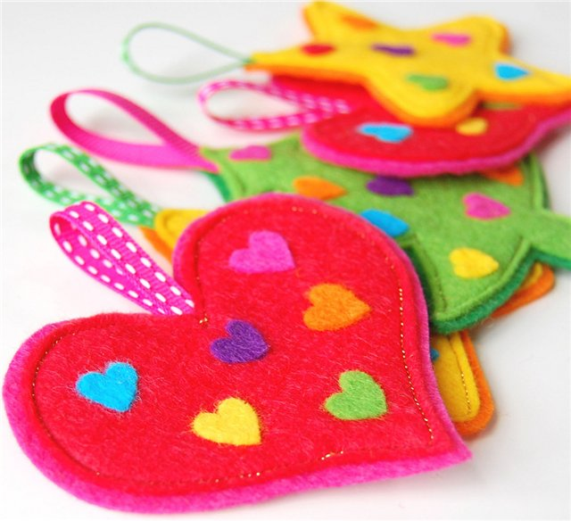 Arts And Crafts Gift Ideas For Kids Part - 23: Felt Craft Ideas For Kids