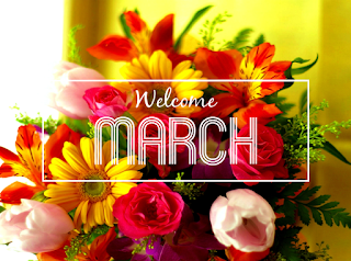 Welcome March 2018