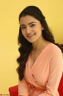 Rukshar Mir in a Peachy Deep Neck Short Dress 002.JPG