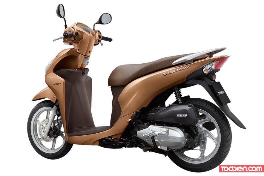 Honda Vision 2016 Việt Nam Mới Nhất