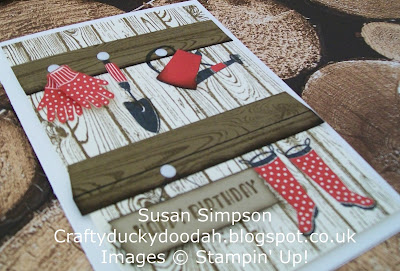 Stampin Up! UK Independent  Demonstrator Susan Simpson, Craftyduckydoodah!, Gift from the Garden, Hardwood, Supplies available 24/7,