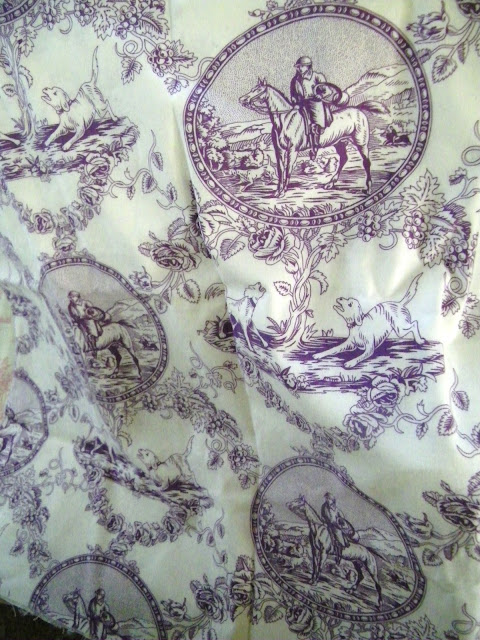 Maison decor pretty toile in fun colorways for Decoration maison mickey