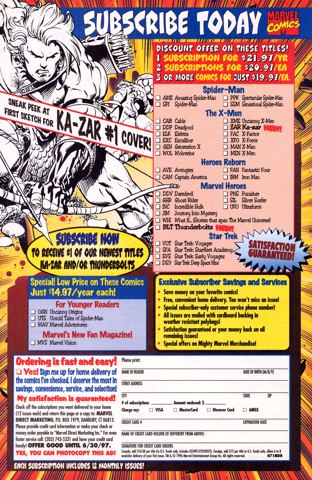 Read online X-Force (1991) comic -  Issue #64 - 42