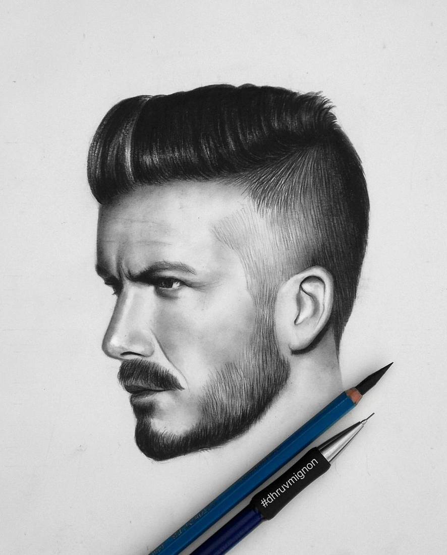 02-David-Beckham-dhruvmignon-Celebrity-Miniature-Black-and-White-Pencil-Portraits-www-designstack-co