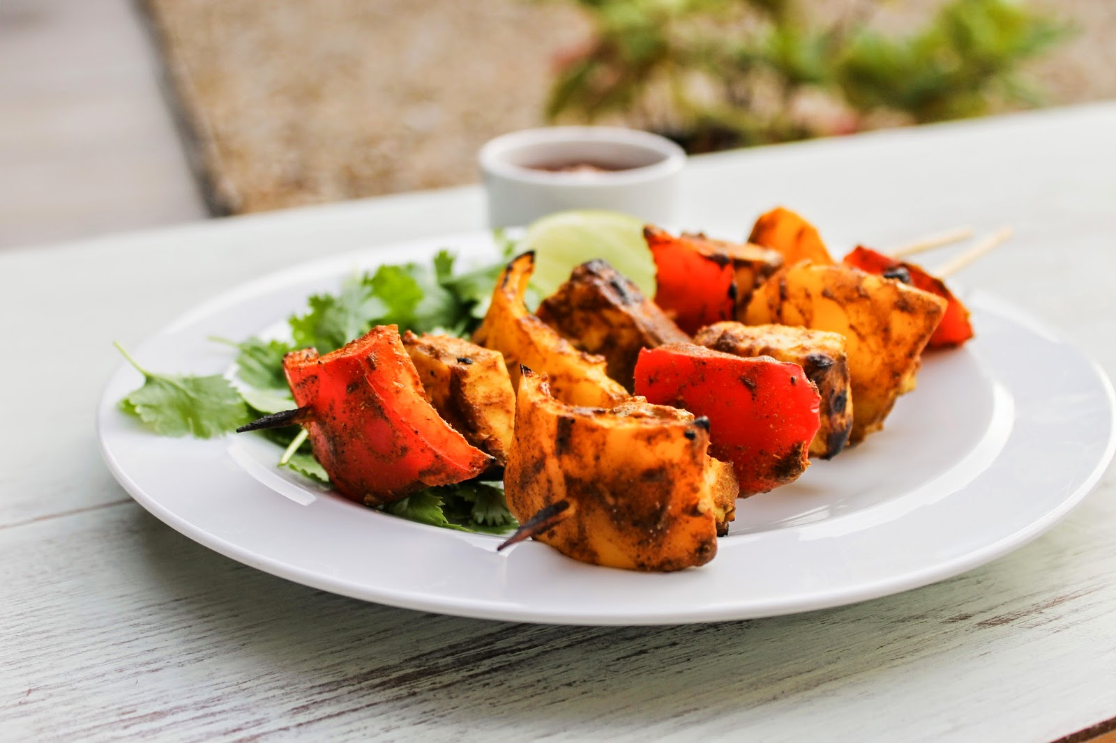 eat like you love yourself: Paneer Tikka