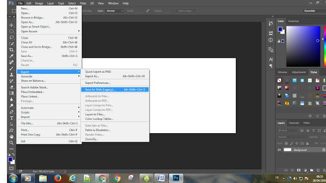 شرح, كيفية, طريقة, حفظ, الويب, في, برنامج, فوتوشوب, PHOTOSHOPE ,CC,2015, اصبحت, مخفية, القائمة ,الرئيسة, ملفات, تسجيل, How ,to ,Save ,For ,Web ,in ,Photoshop ,CC ,2015