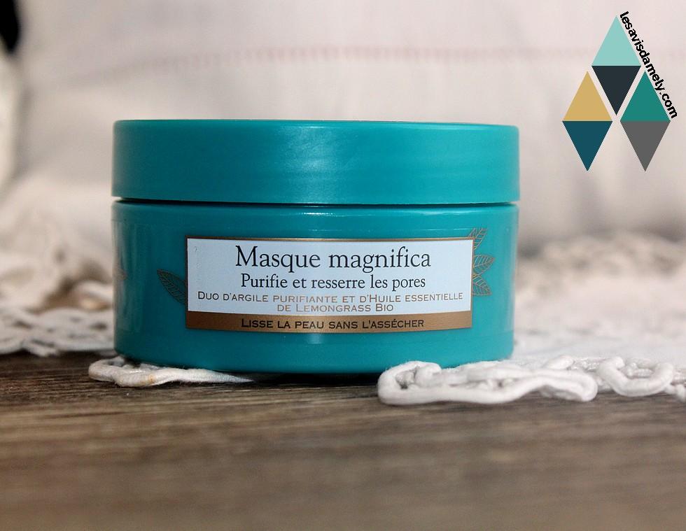 masque magnifica sanoflore
