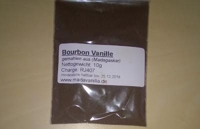 Boubon Vanille Pulver