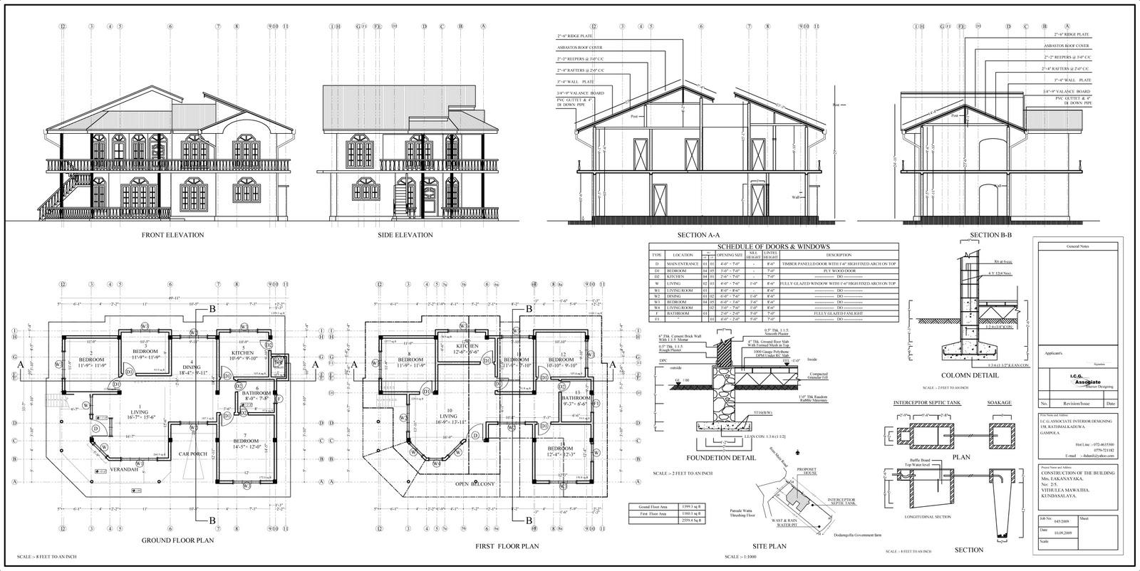 House Plans In Sri Lanka With Photos - Modern House