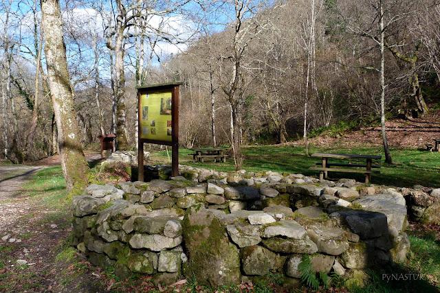 Área Recreativa del Chorrón - Detalle de Cuerría - Villamayor - Asturias