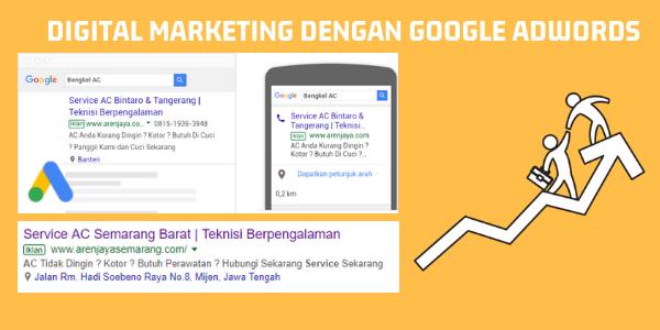 Digital Marketing Dengan Google Adwords