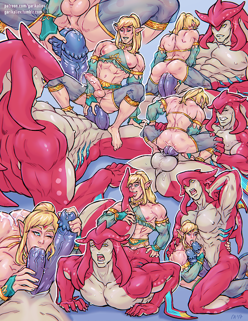 legend of zelda porn gay bara comic double penetration extreme anal oral sidon x link
