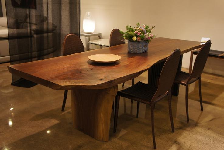 Meja makan kayu jati unik - gambar meja makan kayu jati unik terbaru