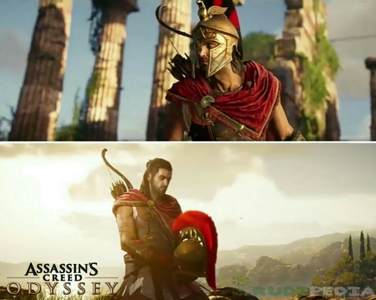 Assassins creed odyssey updated version for ps4, xbox One and pc