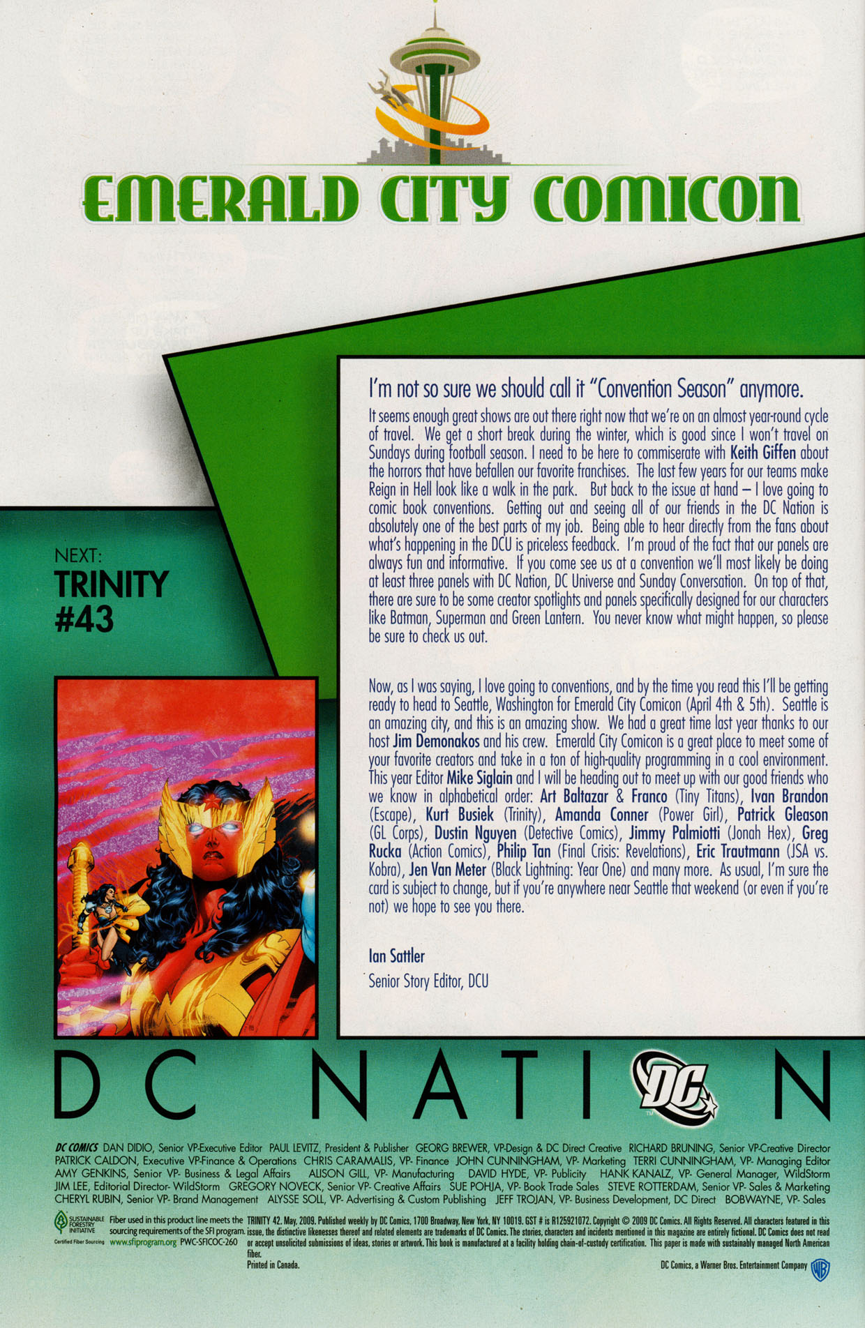 Read online Trinity (2008) comic -  Issue #42 - 30